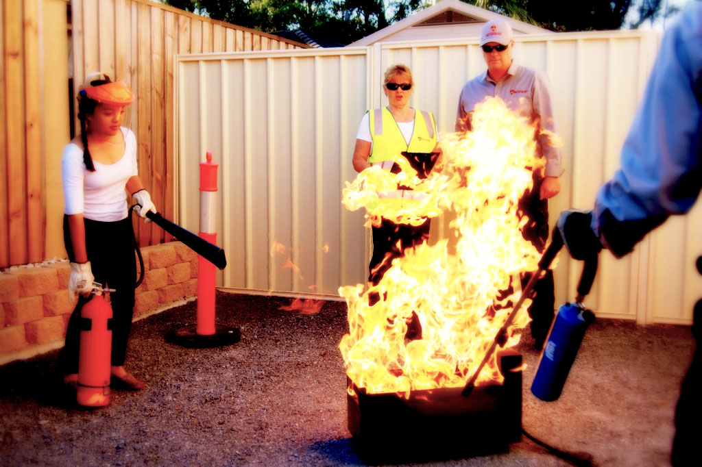 practical fire safety class