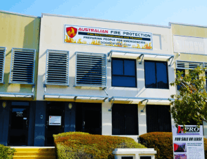 australian fire protection building