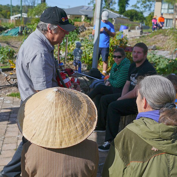peachey community garden training