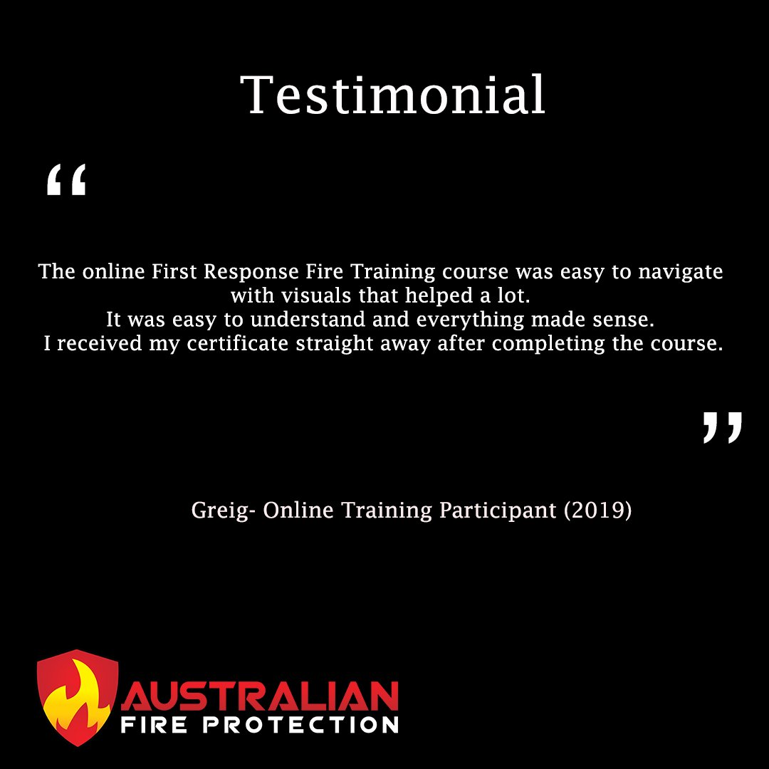 testimonial from greig