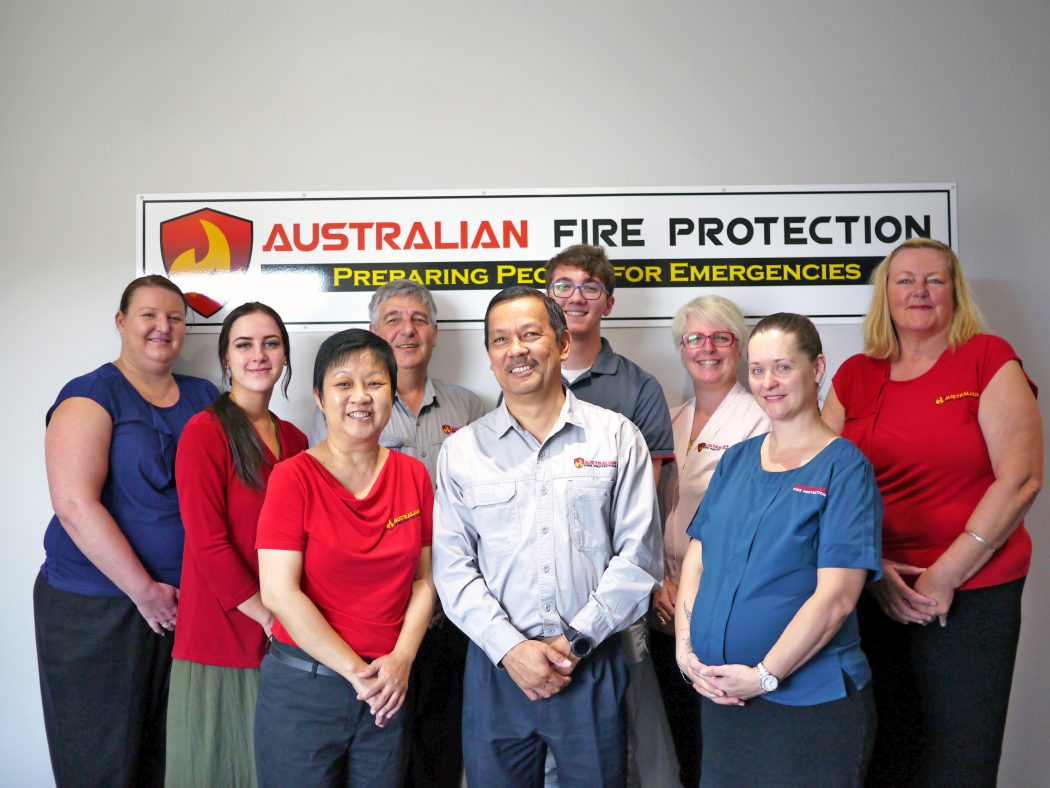 Australian Fire Protection Staff