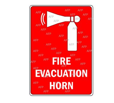 Air Horn Sign