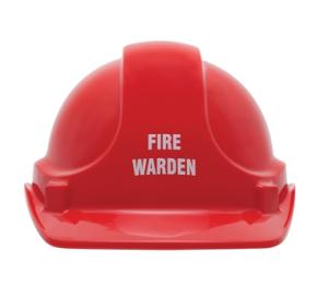 Fire Warden Helmet