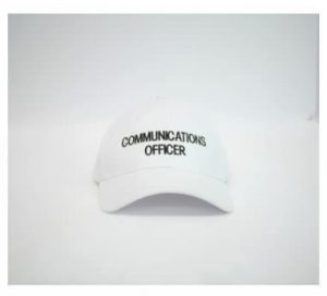 comm officer cap