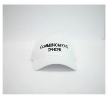 comm officer cap