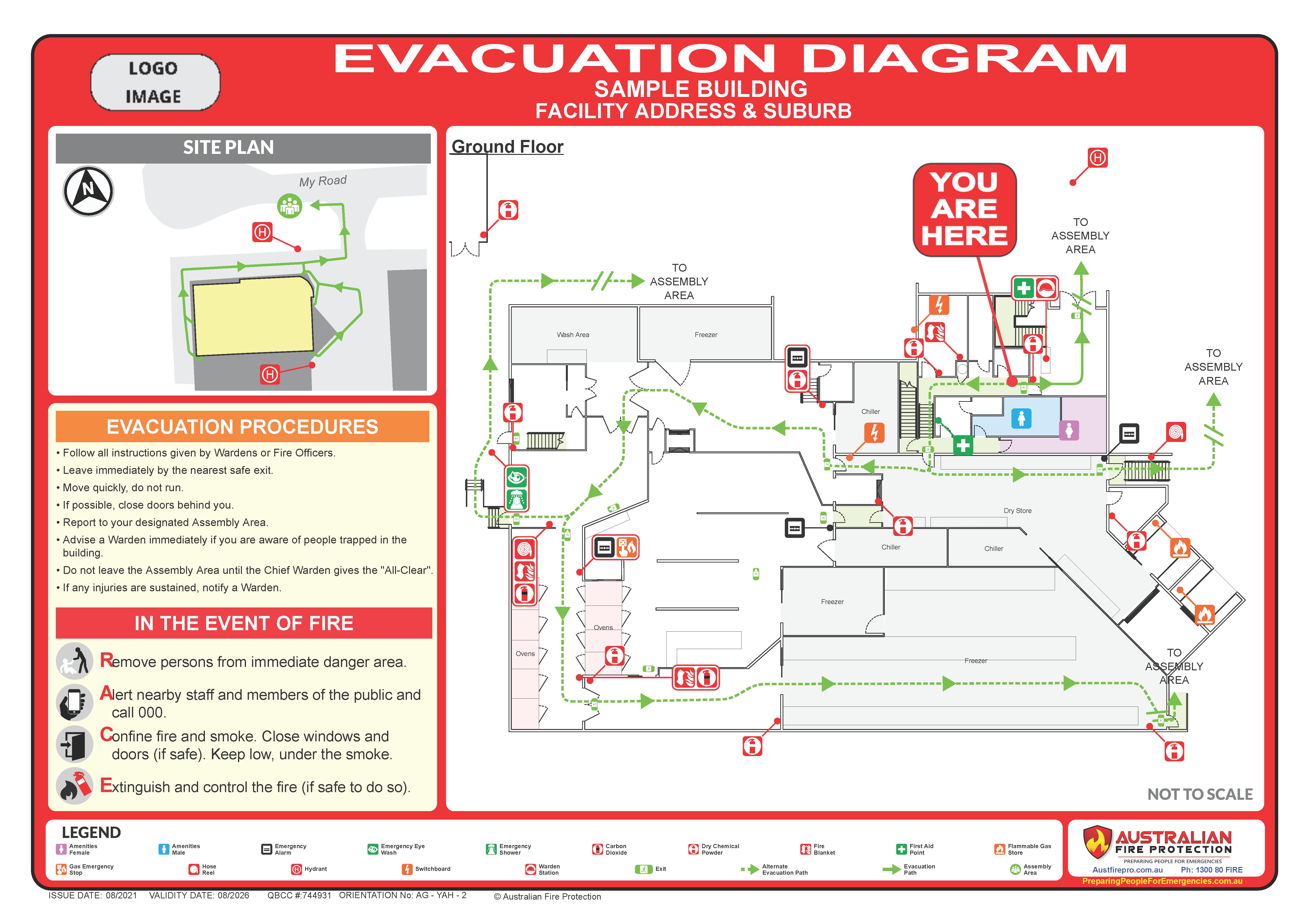 Sample_Evacuation Diagram